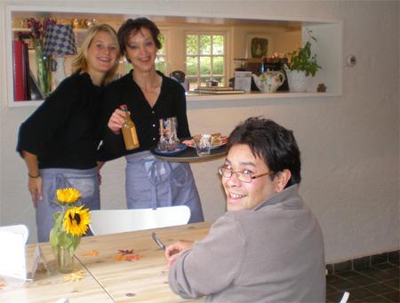 Judith, Hetty en Rutger